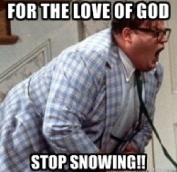 Chris Farley Meme Stop Raining