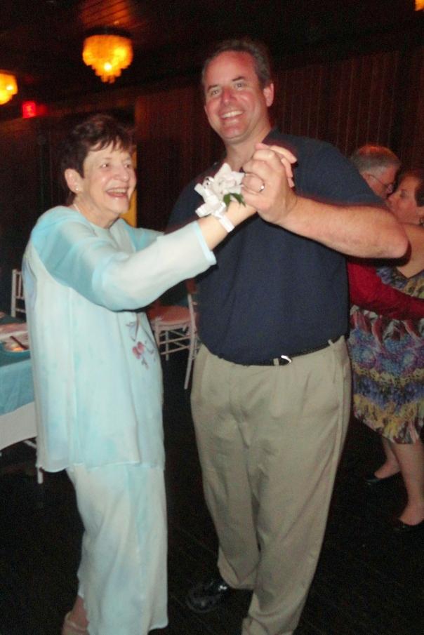 Grandma MJ dancing with Vince 2012