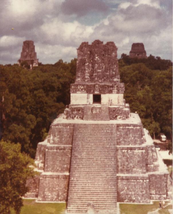 Tikal Pyramids
