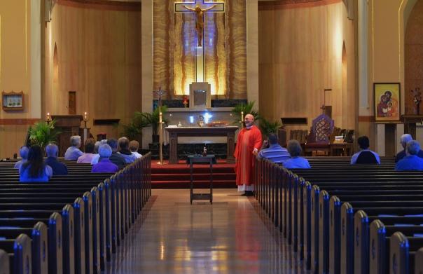 Father Bill's last mass 009