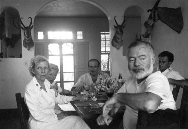 Hemingway's dining room